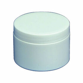 Beauty Express White Jar with Lid 100g