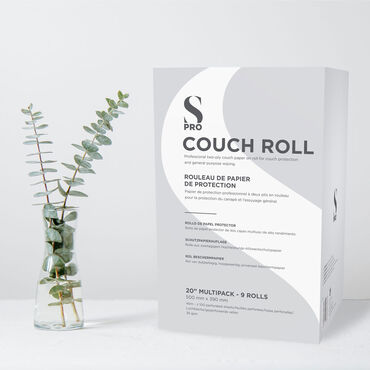 S-PRO Couch Roll 20inch 9 Pack