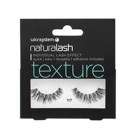 Salon System Naturalash Strip Lashes Texture 117