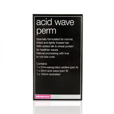 Salon Services One Use Acid Wave Perm Hair Perming