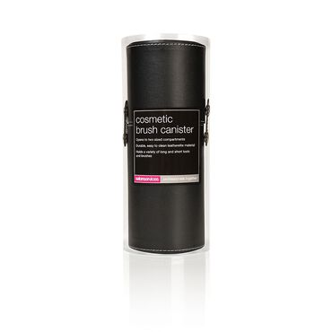 Salon Services Cosmetic Brush Canister