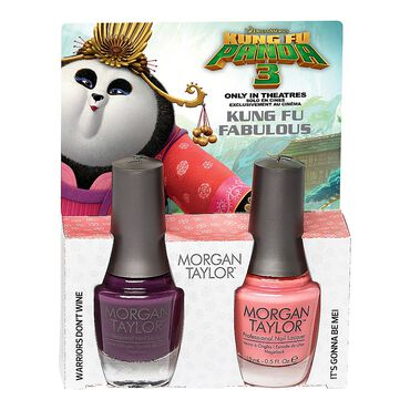 Morgan Taylor Kung Fu Panda 3 Collection - Kung Fu Fabulous Duo Pack