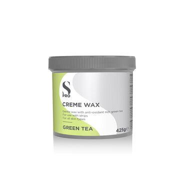 S-PRO Green Tea Creme Wax Pot, 425g