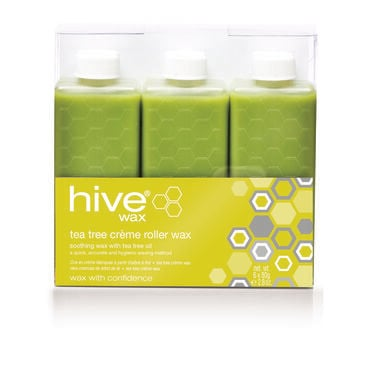 Hive of Beauty Tea Tree Crème Wax Refills Pack of Six 80g
