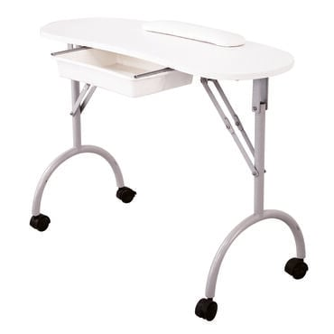 S-PRO Curved Portable Nail Station