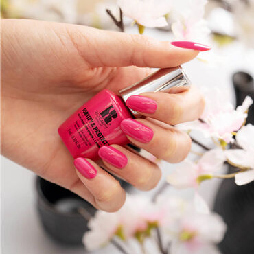 Red Carpet Manicure Fortify & Protect Gel Polish Kyoto Calling Collection - Cherry Blossom 9ml