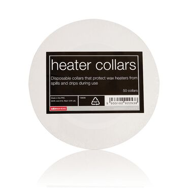 Salon Services Heater Collars 50 pack