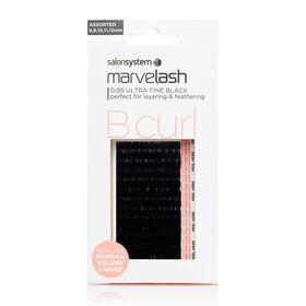Marvelash B Curl 0.05 Ultra Fine Assorted Lashes