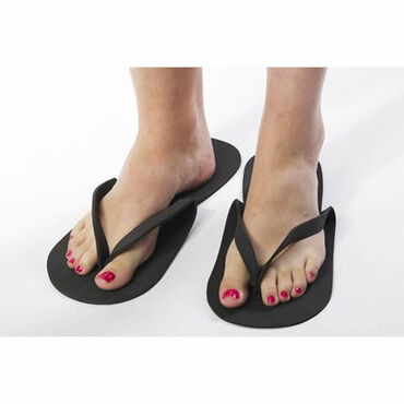 Beauty Express Disposable Flip Flops Black