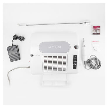 Salon Expert Nailcraft NC3100 3-in-1 Nail Machine Kit White