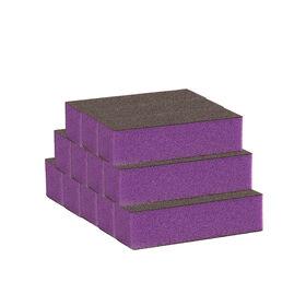 Salon Services Purple Block 60/100 Grit, Pack of 12