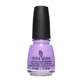 China Glaze Hard-wearing, Chip-Resistant, Oil-Based Nail Lacquer - Get It Right, Get It Bright 14ml