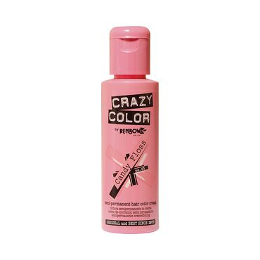 Crazy Color Crazy Color Semi Permanent Hair Colour Cream - Candyfloss 100ml