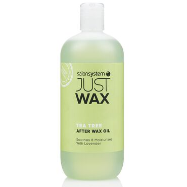 Just Wax Tea Tree After Wax Oil 500ml