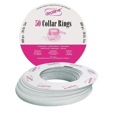 Depileve Collar Rings 400g - Pack of 50