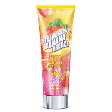 Fiesta Sun Strawberry Banana Breeze 50X Supremely Dark Bronzer 236ml