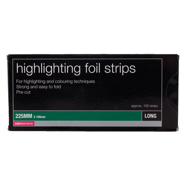 Salon Services Foil Strips Long