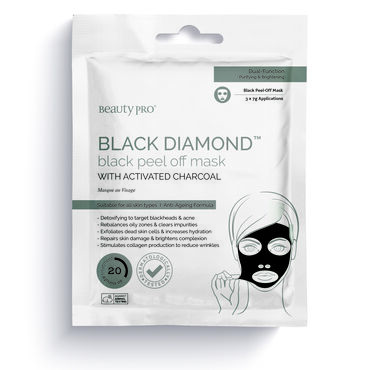 Beauty Pro Black Peel Charcoal Mask pack of 3