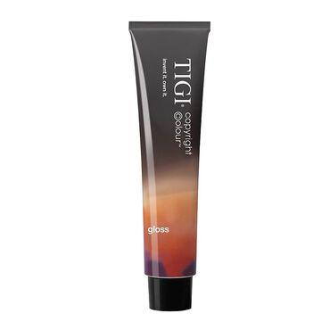 TIGI Copyright Colour Gloss Semi Permanent Hair Colour - 4/85 Ash Mahogany Brown 60ml