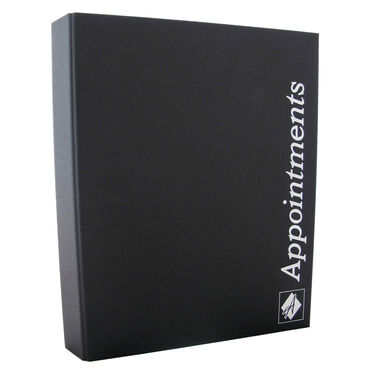 Agenda Salon Concepts Appointment Binders Four Column