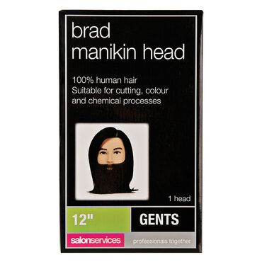 S-PRO Brad Manikin Training Head with Beard 12 Inch