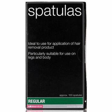 Salon Services Disposable Regular Spatulas