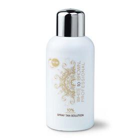 WHITE to BROWN Professional 10% Spray Tan Solution 250ml