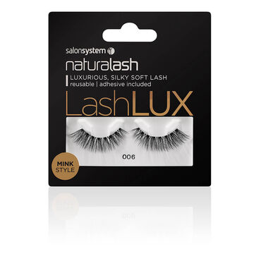 Salon System Naturalash Lashlux Strip Lash Mink Style 006