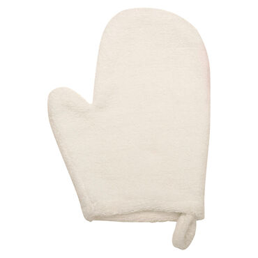 Salon Services Cotton Mitts With Thumb White One Pair