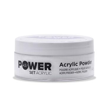 ASP Power Set Acrylic Powder - Ultra Bright White 45g