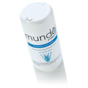 Mundo Cleansing Skin Wipes Pack of 100