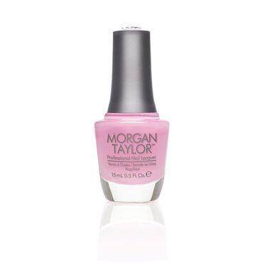 Morgan Taylor Long-lasting, DBP Free Nail Lacquer - Make Me Blush 15ml