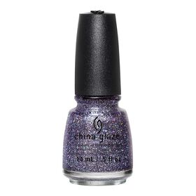 China Glaze Hard-wearing, Chip-Resistant, Oil-Based Nail Lacquer - Pick Me Up Purple 14ml