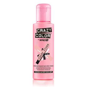Crazy Color Semi Permanent Hair Colour Cream - Candyfloss 100ml