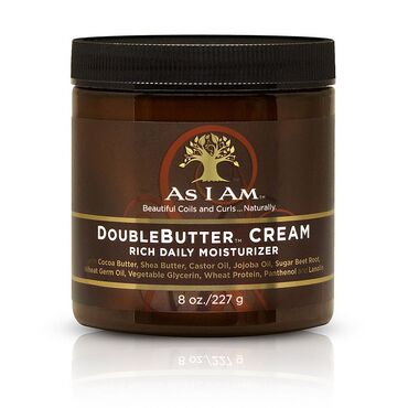 As I Am Double Butter Cream Rich Daily Moisturiser 227g