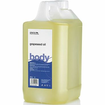 Strictly Professional Body Grapeseed Oil 4 Litre