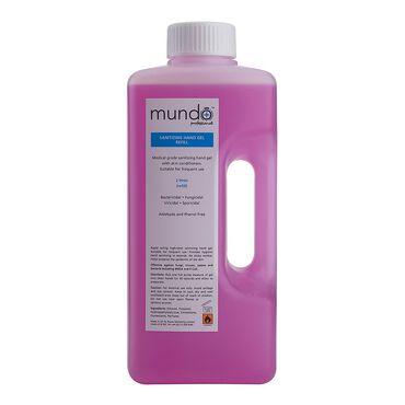 Mundo Sanitising Hand Gel Refill 2l