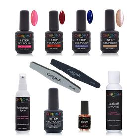 Chroma Gel One Step Gel Polish Kit