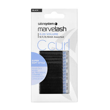 Marvelash Extra Volume Silky Lash C Curl Assorted