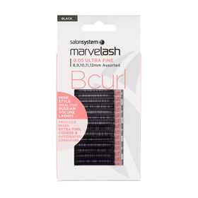 Marvelash B Curl 0.05 Ultra Fine Assorted Lashes