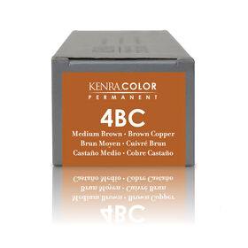 Kenra Professional Permanent Hair Colour - 4Bc Brown Copper 85g