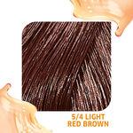 Wella Professionals Colour Fresh Semi Permanent Hair Colour - 5/4 Light Red Brown 75ml