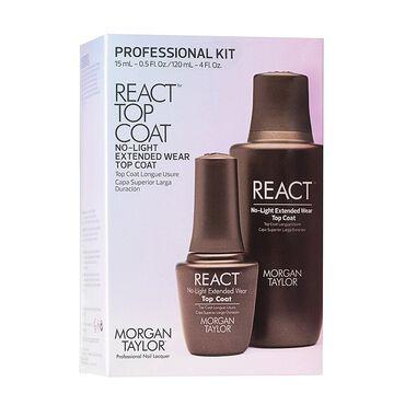 Morgan Taylor React Top Coat Professional Kit