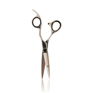 S Professional Black Screw Scissors 14cm