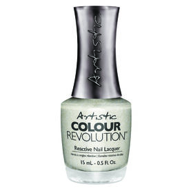 Artistic Colour Revolution Mud, Sweat & Tears Collection Nail Polish Game Face Gold 15ml