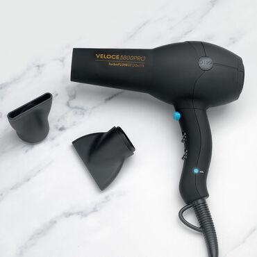 Diva Edit  Veloce 3800 Pro Hair Dryer Black