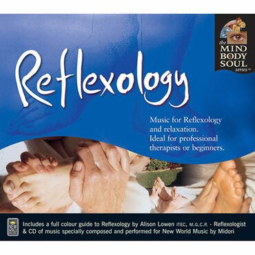 New World Music Mind Body and Spirit Reflexology CD