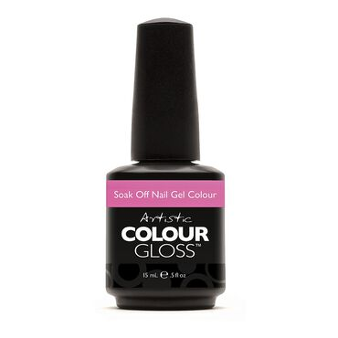 Artistic Colour Gloss Soak Off Gel Polish Femme Florale Collection - Petal to the Metal 15ml