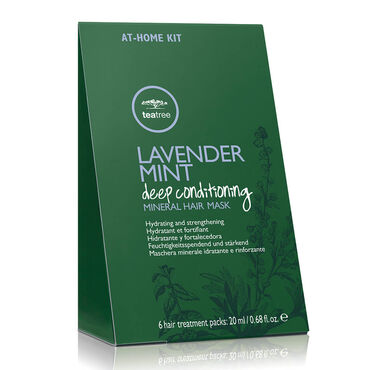 Paul Mitchell Tea Tree LMMMR Lavender Mint Deep Conditioning Mineral Hair Mask Take Home