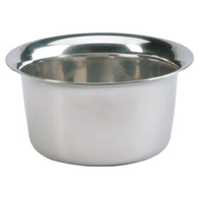 Sibel Chrome Shaving Pot
